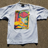 Single Stitch Pro Volley Surf Rags Shirt Size Mens M Puffy Paint