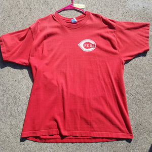 Single Stitch Cincinnati Reds Reggie Sanders Shirt Size Mens XL