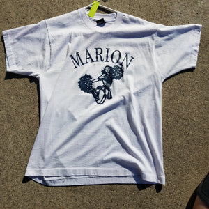Single Stitch Marion Indiana Cheerleading Shirt Size Mens XL