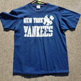 Single Stitch New York Yankees Starter Shirt Size Mens XL