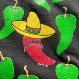 1991 Single Stitch Taos New Mexico Juan in a Million Peppers Shirt Size Mens L