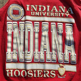 Vintage Indiana University Hoosiers Tank Top Shirt Size M IU Basketball