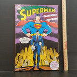 Superman Comic Cover Art
