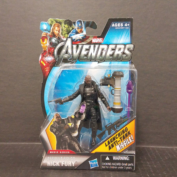 The Avengers Movie Series Assault Squad Nick Fury