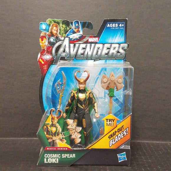 The Avengers Movie Series Cosmic Spear Loki