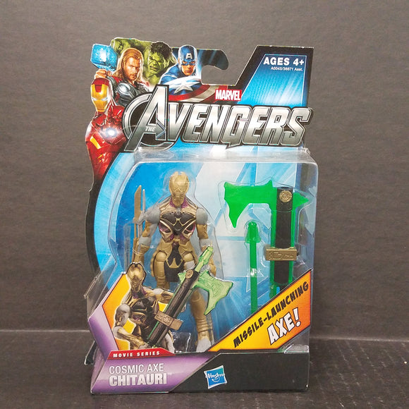 The Avengers Cosmic Axe Chitauri