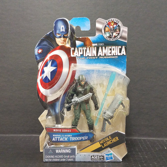 Captain America Hydra Attack Trooper (Dark Green / Black Variant)