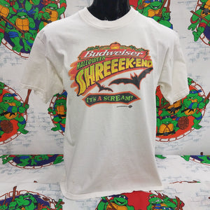 1999 Budweiser Halloween Shreeek-End Shirt SIZE XL
