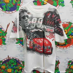 Carl Edwards Allover Print Shirt SIZE XL [NO TAG]