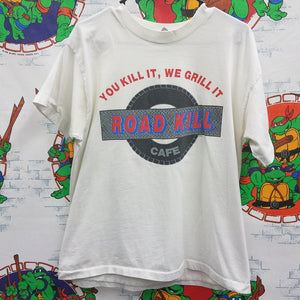 Vintage Road Kill Cafe Shirt SIZE L? [NO TAG]