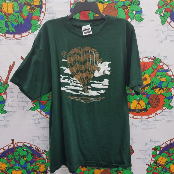 Single Stitch Hot Air Balloon Shirt SIZE XL