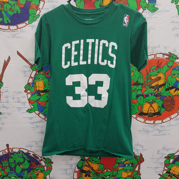 Boston Celtics Larry Bird Shirt SIZE S