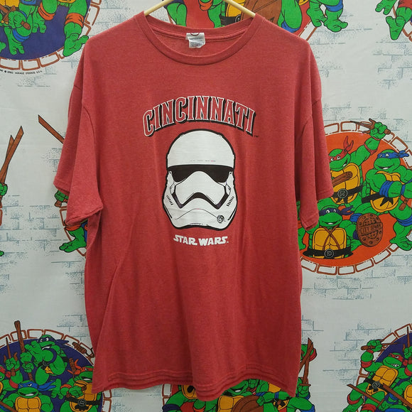 Cincinnatti Reds Star Wars Shirt SIZE XL