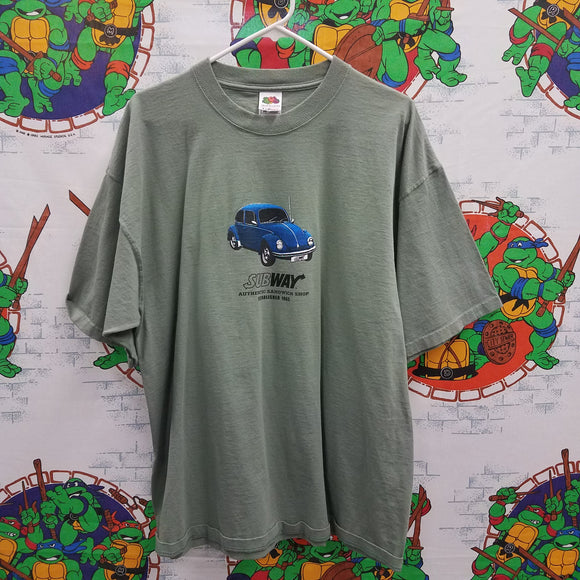 Subway VW Bug Shirt SIZE L