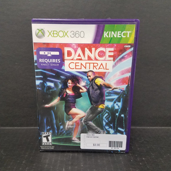 Dance Central Xbox 360 Game