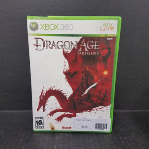 Dragon Age Origins Xbox 360 Game
