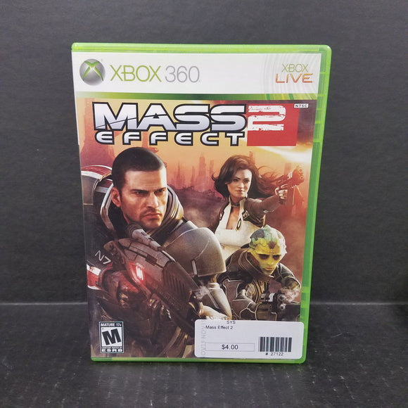 Mass Effect 2 Xbox 360 Game