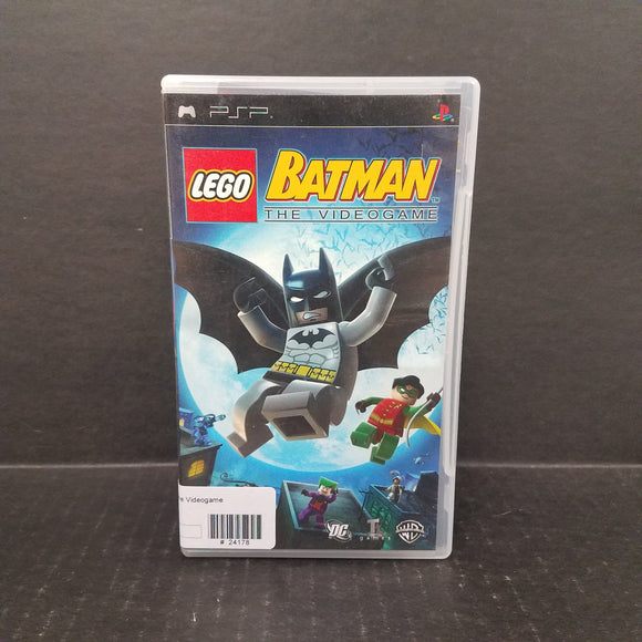 Lego Batman The Video Game PSP Game
