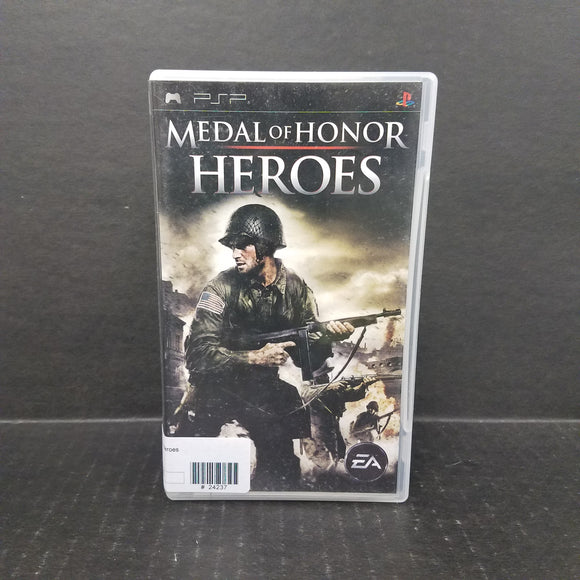 Medal of Honor Heroes PSP Game