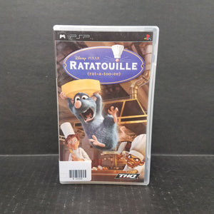 Ratatouille PSP Game