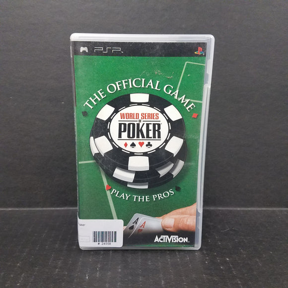 World Series of Poker PSP Game