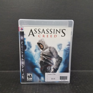 Assassin's Creed PS3 PlayStation 3 Game