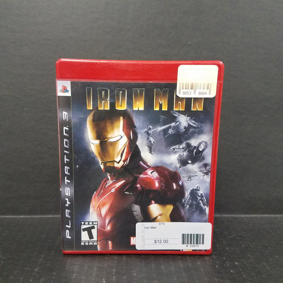 Ironman PS3 PlayStation 3 Game