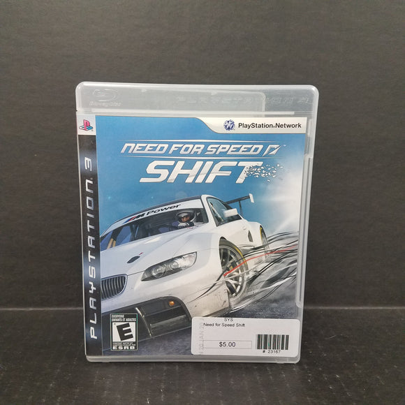 Need for Speed Shift PS3 PlayStation 3 Game