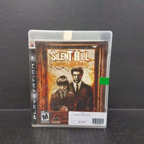 Silent Hill Homecoming PS3 PlayStation 3 Game