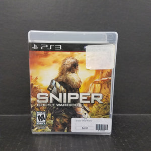 Sniper Ghost Warrior PS3 PlayStation 3 Game