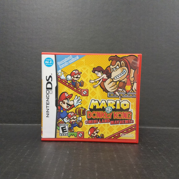Mario vs Donkey Kong Mini-Land Mayhem Nintendo DS
