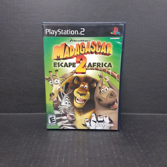 Madagascar Escape 2 Africa PS2 PlayStation 2