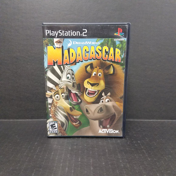 Madagascar PS2 PlayStation 2