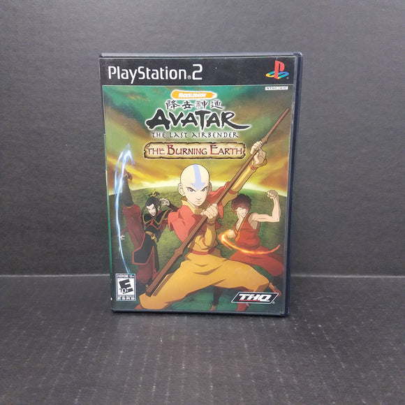 Avatar The Burning Earth PS2 PlayStation 2