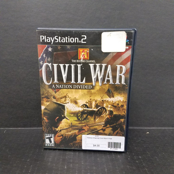 Civil War A Nation Divided PS2 PlayStation 2