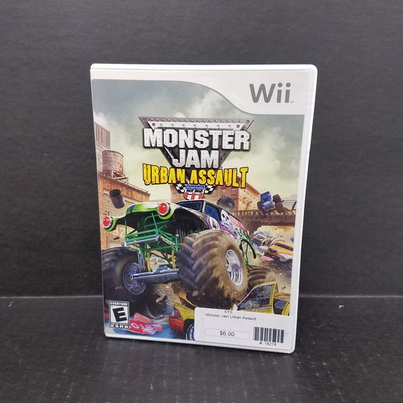 Monster Jam Urban Assailt Nintendo WII