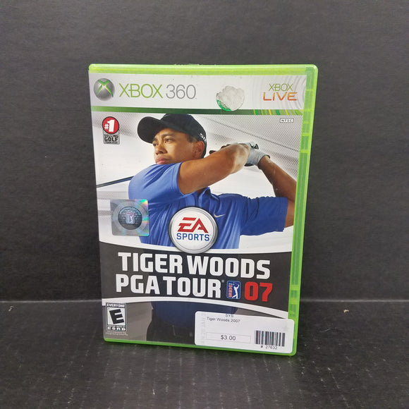 Tiger Woods 2007 Xbox 360