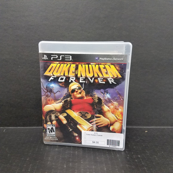 Duke Nukem Forever PS3 PlayStation 3