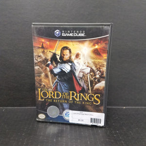 Lord of the Rings: Return of the King Nintendo GameCube
