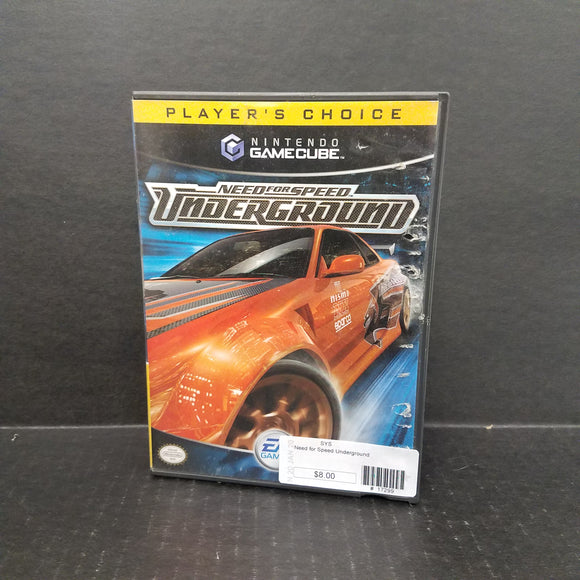 Need for Speed Underground Nintendo GameCube