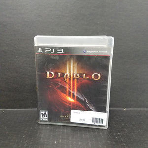 Diablo III PS3 PlayStation 3