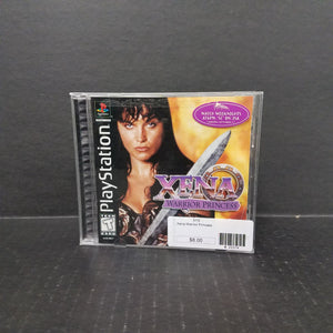 Xena Warrior Princess PS1 PlayStation 1