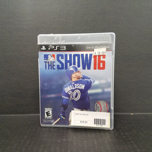 MLB The Show 16 PS3 PlayStation 3 Game