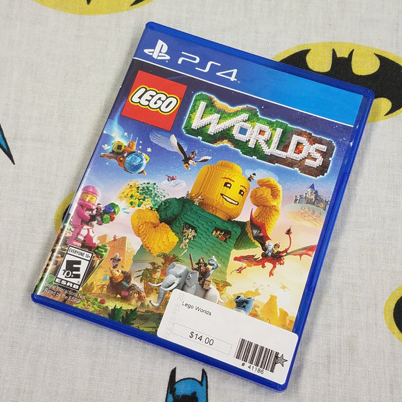 Lego Worlds PS4 PlayStation 4