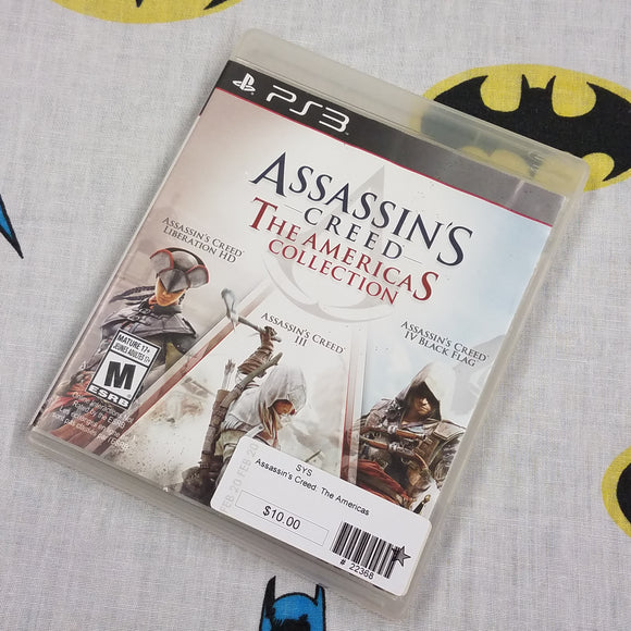Assassin's Creed The Americas Collection PS3 PlayStation 3