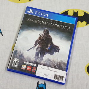 Shadow of Mordor PS4 PlayStation 4