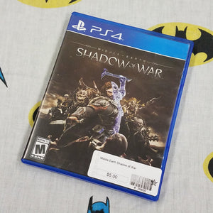 Shadow of War PS4 PlayStation 4