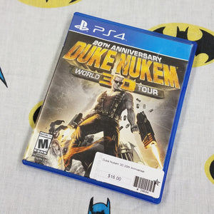 Duke Nukem 3D World Tour PS4 PlayStation 4