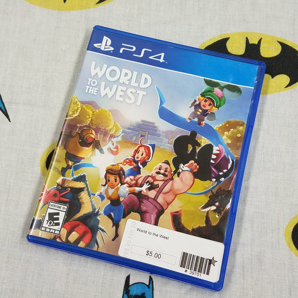 World to the West PS4 PlayStation 4