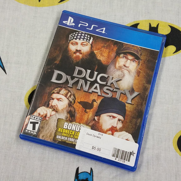 Duck Dynasty PS4 PlayStation 4